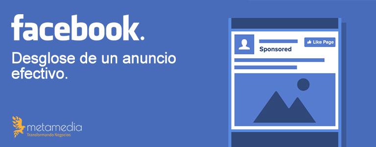 Anuncios efectivos en facebook