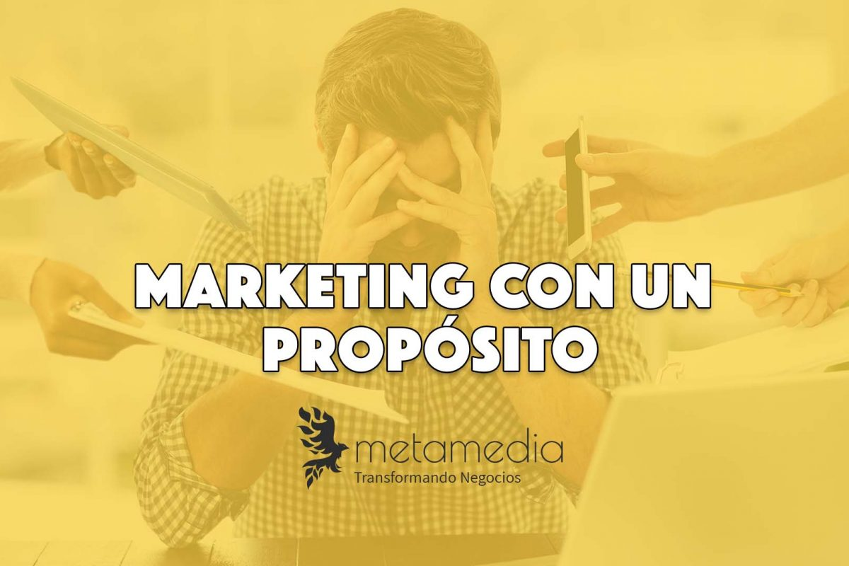 marketing con un propósito