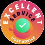 HostAdvice-Excellent-Service-Badge