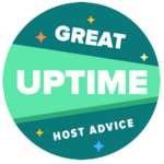 HostAdvice-Great-Uptime-Badge